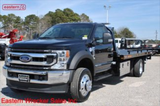 2020 Ford F550, 6.7L Turbodiesel, 10-spd Torqshift, 20ft Jerr-Dan SRR6T-WLP, IRL Wheel Lift, Stock Number F6306