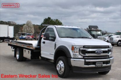 2020 Ford F550, Powerstroke Turbodiesel, Automatic, XLT, with 20ft Jerr-Dan NGAF6T-WLP Wide Low Profile Aluminum Carrier, IRL Wheel Lift, Stock Number F6308