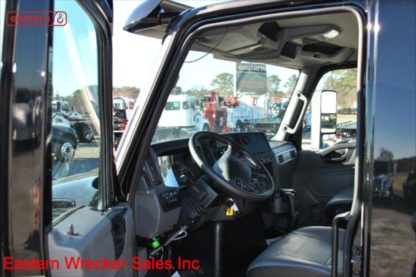 2022 International Extended Cab MV607, 6.7L Cummins, Allison Automatic, 22ft Jerr-Dan SRR6T-WLP, Stock Number I1103