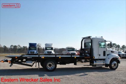 2020 Peterbilt 337 Extended Cab 300hp PX-7 Air Brake Air Ride with 22ft Jerr-Dan SRR6T-WLP Steel Carrier, Stock Number P8826