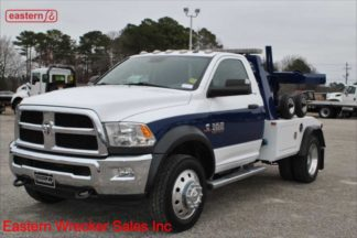 2017 Dodge Ram 4500 SLT 4x4 6.7L Cummins Automatic with Jerr-Dan MPL-NGS Self Loading Wheel Lift, Stock Number U4995