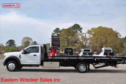 2018 Ford F550, 6.7L Powerstroke Turbodiesel, Automatic, XLT, with 20ft Jerr-Dan SRR6T-WLP Steel Carrier, IRL Wheel Lift, Stock Number U6100