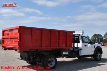 2021 Ford F550, 6.7L Powerstroke, 10-spd Automatic, Swaploader SL75 Hook Lift System, Stock Number F7046