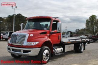 2022 International, 6.7L Cummins, Allison Automatic, Air Brake, Air Ride, Aluminum Wheels, 22ft Jerr-Dan SRR6T-WLP #0220021841, Stock Number I4373