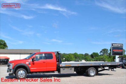 2020 Ford F550 Extended Cab, Lariat, 4x4, Powerstroke Turbodiesel, Automatic, 20ft Jerr-Dan NGAF6T-WLP Wide Low Profile Aluminum Carrier, IRL Wheel Lift, Stock Number F2136