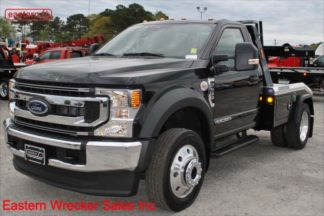 2021 Ford F450, 4x4, XLT, with Jerr-Dan MPL-NG Self Loading Wheel Lift, Stock Number F4671